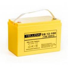 Аккумулятор Yellow GB 12-100