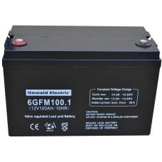 Аккумулятор Батарейный блок 6GFM100 + бокс