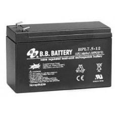 Аккумулятор BB Battery BPL7,5-12