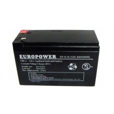 Аккумулятор Europower EV 9-12