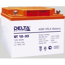 Аккумулятор Delta ST12-33