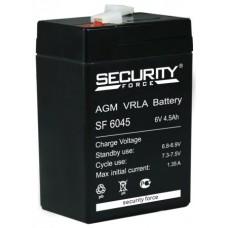 Аккумулятор Security Force SF 6045