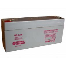Аккумулятор General Security GS 3,2-6