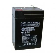 Аккумулятор General Security GS 4,5-6