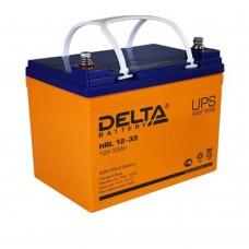 Аккумулятор Delta HRL 12-33