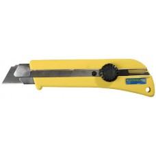 """Нож STAYER """"PROFI"""" с выдвижным сегментированным лезвием, 25мм"""