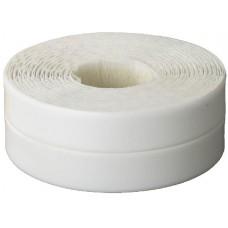 """Лента STAYER """"PROFI"""" бордюрная для ванн и раковин, самоклеящаяся, профиль L, цвет белый, 20х20мм х 3,35м"""