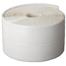 """Лента STAYER """"PROFI"""" бордюрная для ванн и раковин, самоклеящаяся, профиль L, цвет белый, 30х30мм х 3,35м"""