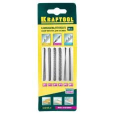 Набор KRAFTOOL Полотна для лобзика, двойной зуб: №3(4), №5(4), спиральные: №1(4), №3(4), по металлу: №3(2), №5(2), 20шт