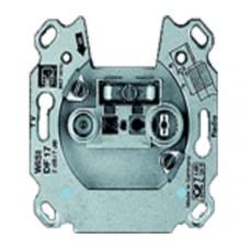 Механизм TV-R розетки, проходная