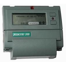 Электросчетсик Меркурий 200.02 1Ф 230V 5(60) Мн.т ЖКИ дин.рейка