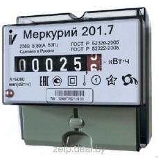 Электросчетсик Меркурий 201.7 60/5 Т1 D 220В ОУ