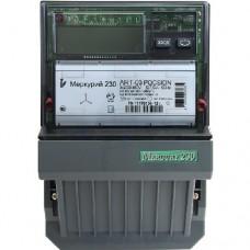 Электросчетсик Меркурий 230 ART-00 PQRSIDN Тр/5А RS485 кл0.5/1 57. трехфазный многотарифный