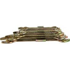 """Набор STAYER Ключи """"ТЕХНО"""" рожковые, 6-22мм, 8 предметов (27044-H8)"""