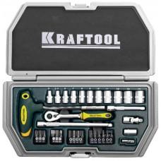 """Набор KRAFTOOL """"INDUSTRY"""" Слесарно-монтажный инструмент, 34 предмета"""