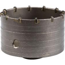 Коронка ЗУБР буровая кольцевая, по бетону, без державки, 100мм