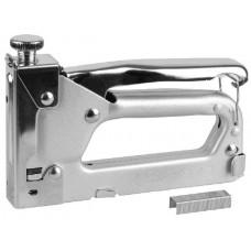 """Пистолет STAYER """"MASTER"""" скобозабивной металлический регулируемый, тип 53, 4-14мм"""