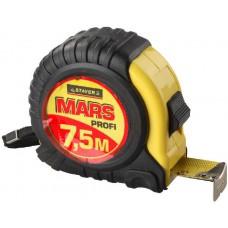 "Рулетка STAYER ""MARS"", 7,5мх25мм"