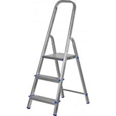 Лестница-стремянка ЗУБР алюминиевая, усиленный профиль, 4 ступени