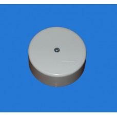 ТусоКоробка распаечная для о/п, D=62мм,H=24мм (4 клем.) белая