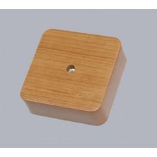 Коробка универс. для кабель-каналов, 80х80х25мм(сосна на светлой основе)