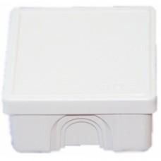 Коробка расп. для о/п, 70х70х40мм (белая) (65006Б)