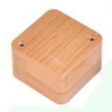Коробка универс. для кабель-каналов, 85х85х42мм(сосна на светлой основе)