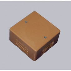 Коробка универс. для кабель-каналов, 85х85х42мм(коричневая)
