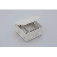 Коробка расп. для о/п, 100х100х50мм (откид.крышка)