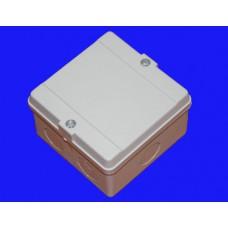 Коробка расп. для о/п, 98х98х60мм (серая)