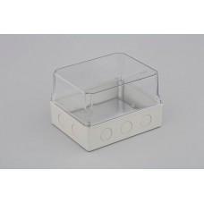 Коробка расп. для о/п и монтажа приборов, 247х199х165мм(проз.кр)