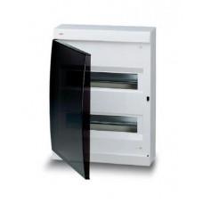 UNIBOX 24м белый с дымчатой дверцей с шинами