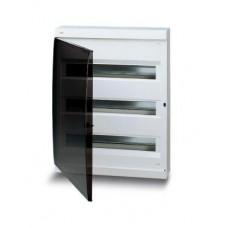 UNIBOX 54м белый с дымчатой дверцей с шинами
