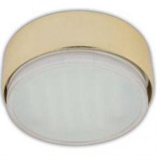 Ecola GX53 FT8073 светильник накладной золото 25x82
