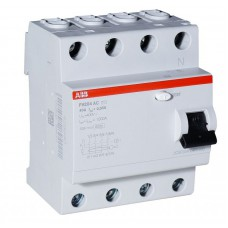 Выключатель дифференциального тока 4 модуля FH204 AC-25/0,03