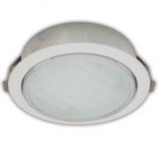 Ecola GX53 DL Светильник Встраиваемый (для твёрдых поверхностей и мебели) Белый 28х93