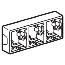 Коробка Valena для накладного монтажа 3поста (776133)