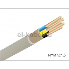 NYM 5x1,5 Севкабель