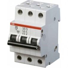 Автоматический выключатель 3Р S203 C6