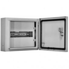Корпус металлический навесной 250х300х120, 12 мод., IP54, ЩРН-12 DEKraft