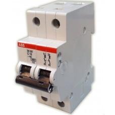 Автоматический выключатель 2-полюса SH202L C6