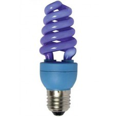 Ecola Color 15W 220V E27 Blue Синий 124x45