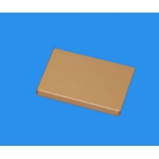 Заглушка для РКК-80х60 и 80х40 (коричневая)