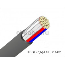 Кабель КВВГнг(А)-LSLTx 14х1,0