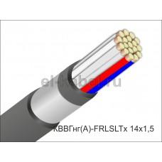 Кабель КВВГнг(А)-FRLSLTx 14х1,5