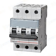Автоматический выключатель TX3 C6A 3П 6000