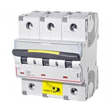 Автоматический выключатель DX3 3П C100A 10kA/16kA