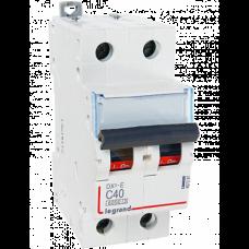 Автоматический выключатель DX3-E C20 2П 6000/6kA