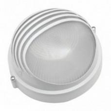 Светильник влагозащищённый ASD НПП-1107 круг ресн 1х100Вт А60/Е27 IP54 белый
