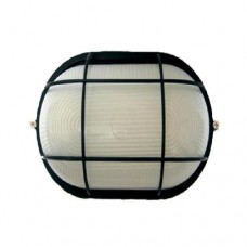 Светильник влагозащищенный ASD НПП-1202 овал с/р 1х100Вт А60/Е27 IP54 черный